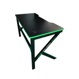 Birou Arka Gaming Z3, Profesional, suprafata negru verde carbon 120*60cm