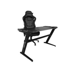 Birou Arka Gaming Z6, lumini led, suprafata negru carbon 120*60cm
