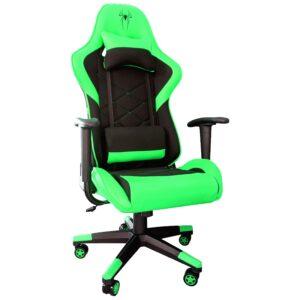 Scaun Gaming B2 negru green