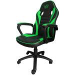 Scaun gaming Arka B98 black green